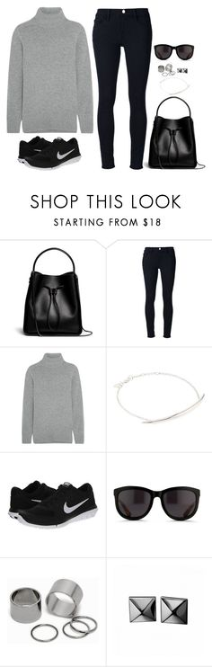 """""""Untitled 236 (Fall/Winter)"""" by maddkat ❤ liked on Polyvore featuring 3.1 Phillip Lim, Frame, Chloé, Shaun Leane, NIKE, The Row, Pieces and Waterford"""