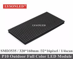 buy 2017 hot sale p10 outdoor smd full color led module 320x160mm 14 scan p10 waterproof smd 3535 rgb led #led #module