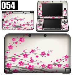 """Nintendo 3DS XL 3DSXL Vinyl Skin """"Works With"""" Case Cover and Accessories #054 - http://dynamicvideogames.com/2014/01/29/nintendo-3ds-xl-3dsxl-vinyl-skin-works-with-case-cover-and-accessories-054/"""