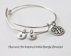 Alex and Ani Inspired Bangle Bracelet.  by JewelryImpressions