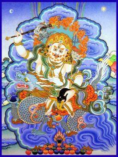 Jambala Buddhist god of wealth. May he bring us prosperity.