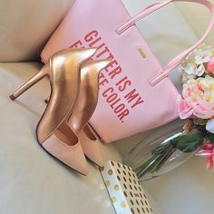 Rose gold Zara pumps Adorable shoes!  Comes with box , no tags attached, EUR SIZE 36                                  Offers via offer feature only !  IG: iluvshoes22   20% off bundles  Zara Shoes Heels