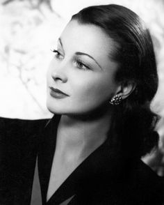Vivien Leigh (1940), the year after she filmed GONE WITH THE WIND