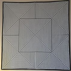 Just learned my OpArt 2016 quilt was accepted by QuiltconEast 2017. #modernquiltguild #quiltcon2017 #renotahoemodernquiltguild