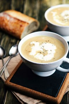 Caramelized onion soup: http://www.stylemepretty.com/living/2014/10/30/10-soups-to-add-to-your-cold-weather-line-up/