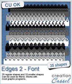 Edge #2 - Font