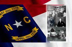 About The Blue Ridge Heritage Trail interpretive sign & historical marker at The Mast Farm Inn of Historic Valle Crucis, North Carolina.