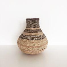 Binga basket | African calabash | Ethnic vase | Fair trade | Zimbabwe | Tonga basket | Tonga calabash | Ethnic decor | Boho home decor by houseofcshop on Etsy https://www.etsy.com/listing/501022358/binga-basket-african-calabash-ethnic