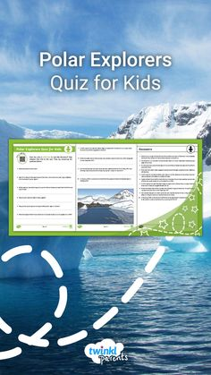 Does your child know what Antarctica is and where it is? Encourage your child to read the Polar Explorers Homework Help guide (on Twinkl.co.uk) before challenging them to answer these quiz questions about the topic. An answer sheet is included. Follow the link and try this quiz with your child today!