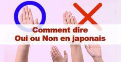 Oui et non en japonais / #japon #japonais