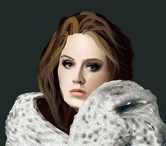 Adele, Fashion, Advertising, Products, Moda, Fashion Styles, Fashion Illustrations