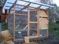 Garden coop plans (lots of pics of building process on this blog)