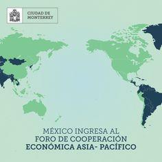 Un día como hoy, en 1993,  México ingresó al Foro de Cooperación Económica Asia-Pacífico. El APEC (Asia-Pacific Economic Cooperation) es un foro multilateral que fortalece el crecimiento y la prosperidad de los países del Pacífico, trata temas como el intercambio comercial, coordinación económica y cooperación entre sus integrantes.
