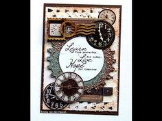 Mixed Media Card {Sa Crafters}