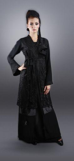 * خليجية abaya evening gown