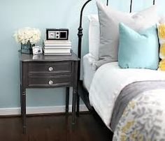 grey and teal bedroom - Google Search