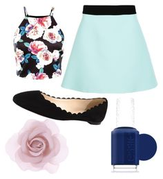 """""""idk"""" by asrobertsemail on Polyvore featuring FAUSTO PUGLISI, Fabio Rusconi, Accessorize, Essie, women's clothing, women, female, woman, misses and juniors"""