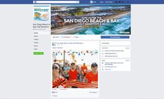 Ali Palmer Creative designed this holiday post to inspire people to buy entry to the San Diego Beach & Bay Half Marathon, 5K, and 8K race for a holiday gift.