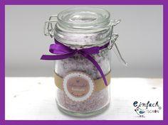 Lavendel Badesalz Meeres-Badesalz 250g