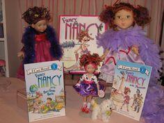"Various ""Fancy Nancy"" dolls"