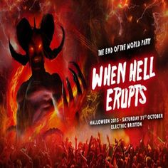 The End of the World Party at Electric Brixton, Town Hall Parade, London, SW2 1RJ, UK on Oct 31, 2015 to Nov 01, 2015 at 10:00pm to 4:00pm, Do you want the good news or the bad news?  The bad news is that on Saturday 31st October, Satan himself will be breaching Hell's Gates and releasing his depraved hoards of evil demons into London.  The good news. Well there isn't any.  Category: Nightlife  Prices: £5 Adv £5, Early £8, General £12, OTD £20