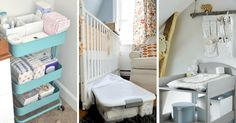 Looking for tips and ideas to both tidy up, arrange and decorate your baby's room? Here are 17 tips to know!