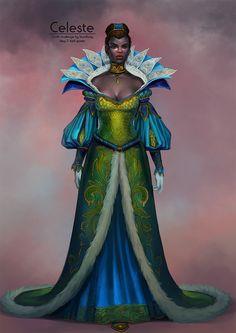Outfit challenge by Alexandra Semushina on ArtStation.