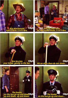 Barney disgusts me...but I still think he's funny