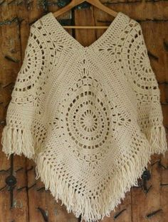 Crochet braid styles 861243128727776680 - Crochet poncho sweater pattern projects Ideas Source by Crochet Jewelry Patterns, Crochet Poncho Patterns, Crochet Coat, Crochet Clothes, Crochet Stitches, Crochet Braid, Diy Crafts Crochet, Beautiful Crochet, Knitting