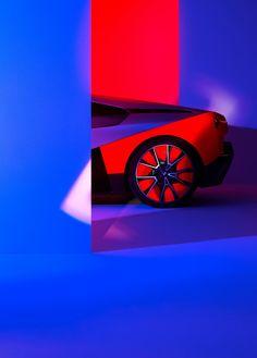 After the BMW Vision iNEXT showed us the brand's future of autonomous driving, the BMW Vision M NEXT now shows us the future of performance. Bmw Supercar, Neon Car, Bmw Design, Bmw Performance, Bmw M1, Car Brands, Automotive Design, Art Cars, Concept Cars