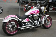Pink Motorcycles Kawasaki Vulcan