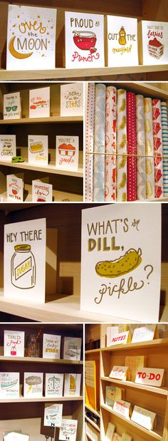 Belle & Union booth display #stationery #letterpress