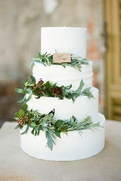 Small Rustic Wedding Cakes For Perfect Country Reception ❤ See more: http://www.weddingforward.com/small-rustic-wedding-cakes/ #weddings