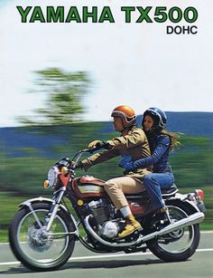 Yamaha Motorcycles, Cars And Motorcycles, Japanese Motorcycle, Classic Motors, Biker Style, Brochures, Vintage Posters, Motorbikes, The Past