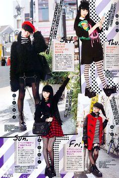 Gyaru Fashion, Harajuku Fashion, Punk Fashion, I Love Fashion, Passion For Fashion, Fashion Outfits, Harajuku Style, Kawaii Fashion, Grunge Goth