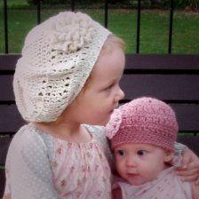 english rose hat crochet pattern