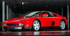 Extremely Low-Mileage 1990 Ferrari 348 TB Wants To Go Home With You #Auction #Ferrari