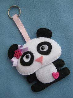 Felt Ursinho Panda