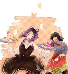 Demon Slayer, Slayer Anime, Dragon Tales, World Of Gumball, Blue Garden, Cute Comics, Anime Demon, Animated Cartoons, I Love Anime