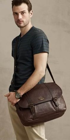 Fossil- Perfect MAN bag