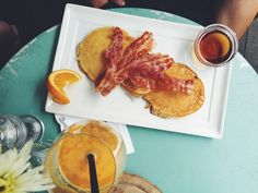 Frühstück Herr Pimock