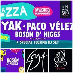 ESTE 30 de octubre BOSON D' HIGGS saluda a SODA STEREO y promociona sus temas inéditos ... Con ellos lo mejor de YAK Y PACO VÉLEZ !!!!