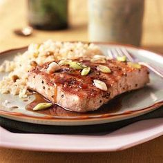 Balsamic-Glazed Tuna | MyRecipes.com