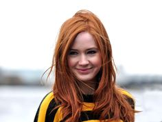 Karen Gillan Hair Color Formula:  Natural Level: 6 (Virgin hair)  2) First, you will apply her base color with the following hair color formula:  7BC (1oz)  8BC (1oz)  6TO (1/2oz)  Mix with: 20 volume Hairmonics developerThe Hairmonics is a faster processing developer, and is good for exposing warmth in the hair – if that is the desired result). [Continued] #redhair #redhaircolor #formula