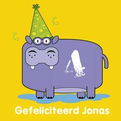 Verjaardagskaarten - Verjaardag kinderfeest gefeliciteerd A1. Meer Bengels vind je ook op www.debengelfamilie.nl
