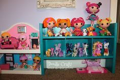 LaLaLoopsy and My Little Pony Dollhouse from Shelf!
