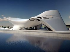 Zaha hadid Architect Nuragic and Contemporany Art Museum, Cagliari, Italy