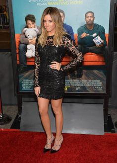 @Ashley Walters Tisdale That Awkward Moment Premiere