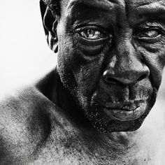 Face Life, courtesy of Photographer Lee Jeffries >>>>>>>>>>>>>>>>>>>>>>>>>>>>>>>>>>Make our Mission yours! www.ACRescueMission.org