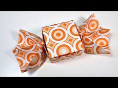 Caja de Origami con forma de Caramelo | Manualidades